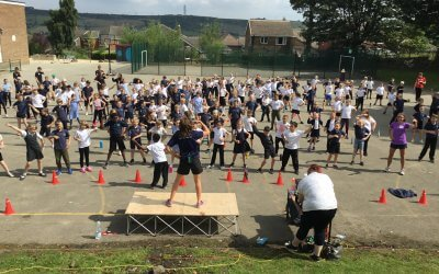 SJS Fun Run 2019 and Special Guest – Nicola Squires