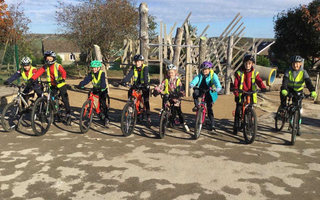 Y6 enjoy Bikeability cycle training