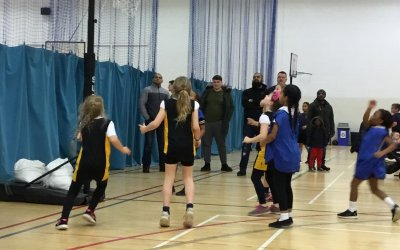 Y4 Basketball Competition