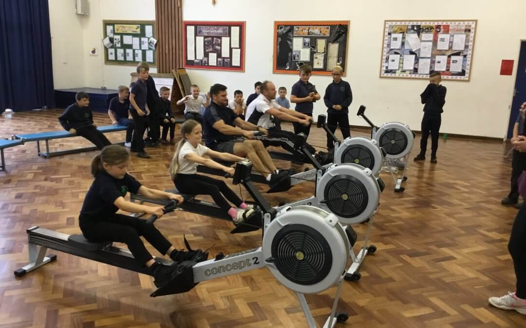 Healthy Week – Rowing