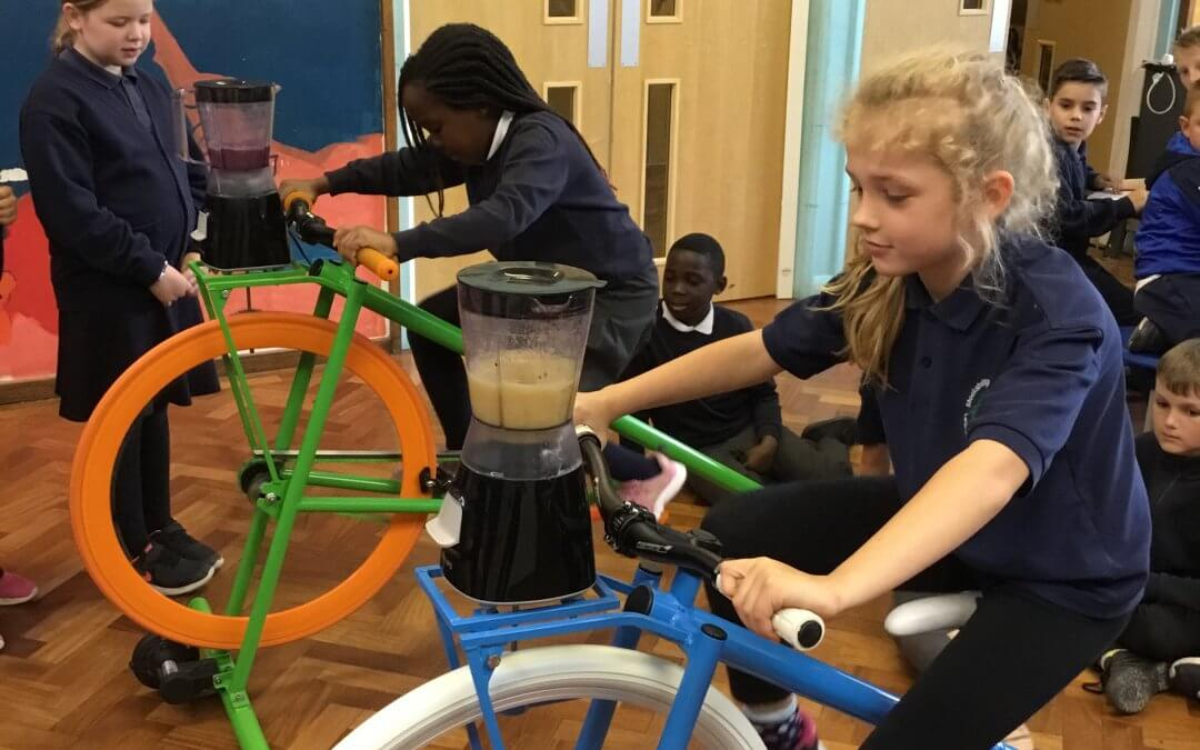 Healthy Week – Smoothie Bike