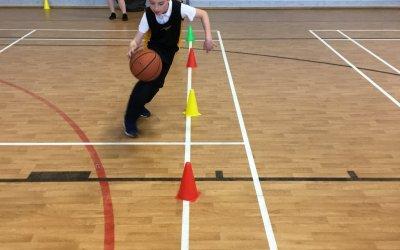 Hotshots Basketball at the High School