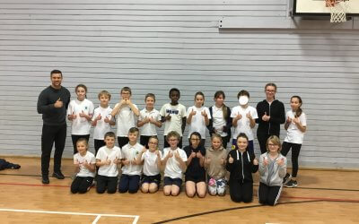 Sportshall Athletics Local Cluster Competition